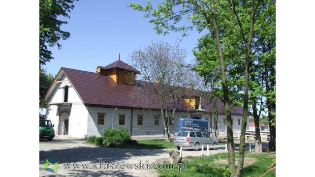 Stajnia przy szpitalu koni w Janowie Podlaskim