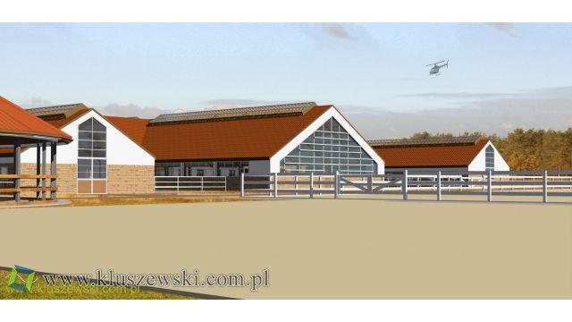Ośrodek jeździecki z basenem dla koni