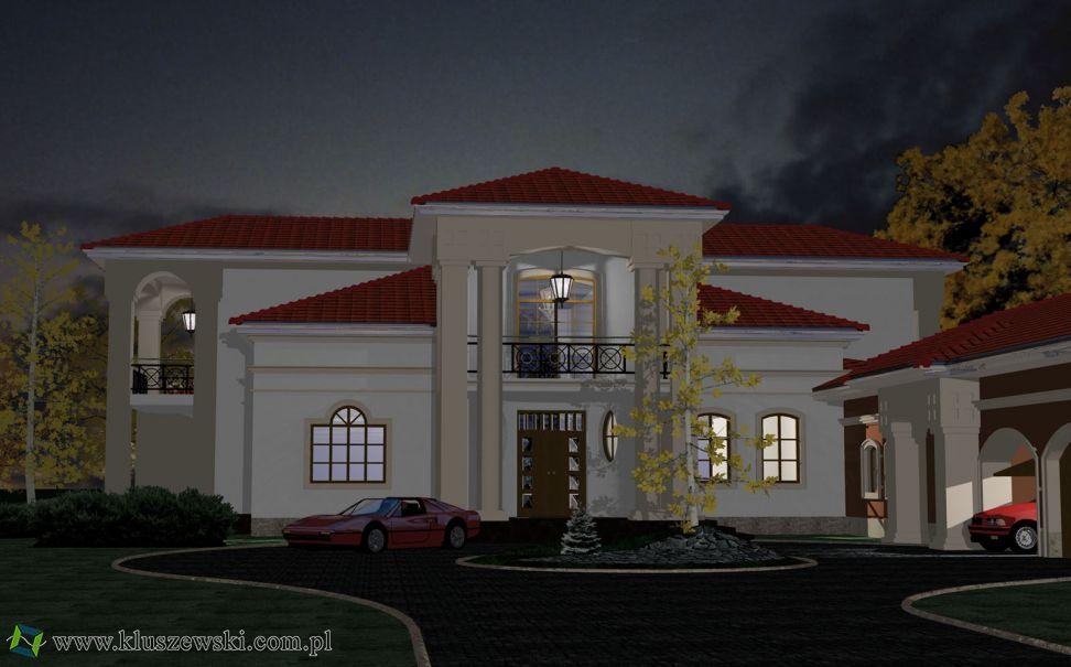 Indywidualny projekt rezydencji w Izabelinie