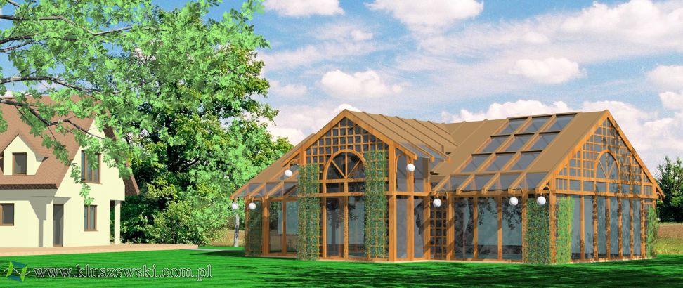 projekt basenu w pięknym ogrodzie