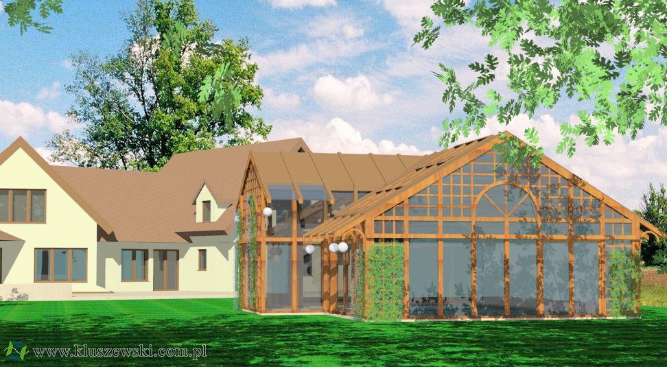 projekty konstrukcji z drewna klejonego