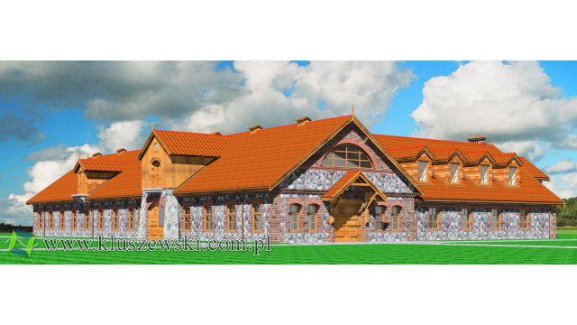 Adaptacja kamiennej obory na stajnie w Szarku