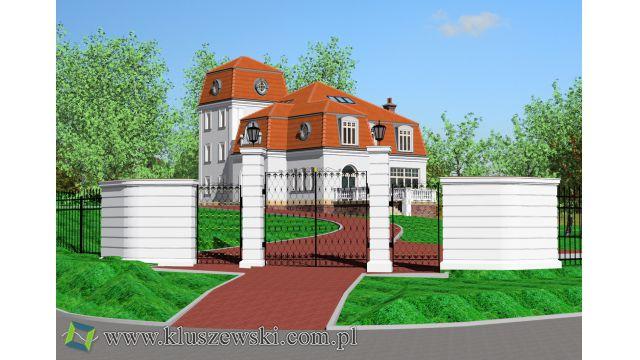 Rozbudowa willi z 1900 r w Łodzi